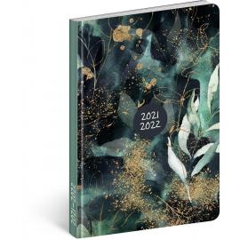 18mesačný diár Petito – Eukalyptus 2021/2022, 11 × 17 cm