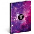 18mesačný diár Petito – Galaxy 2020/2021, 11 × 17 cm