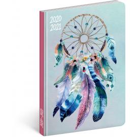 18mesačný diár Petito – Lapač snov 2020/2021, 11 × 17 cm