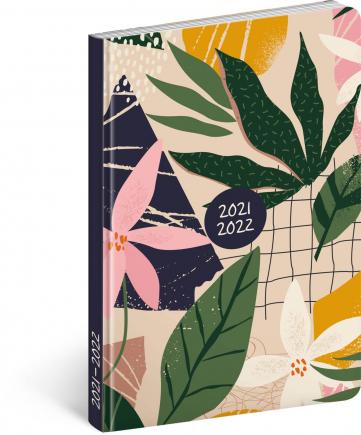 18mesačný diár Petito – Listy 2021/2022, 11 × 17 cm