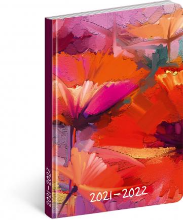 18mesačný diár Petito – Maľba 2021/2022, 11 × 17 cm