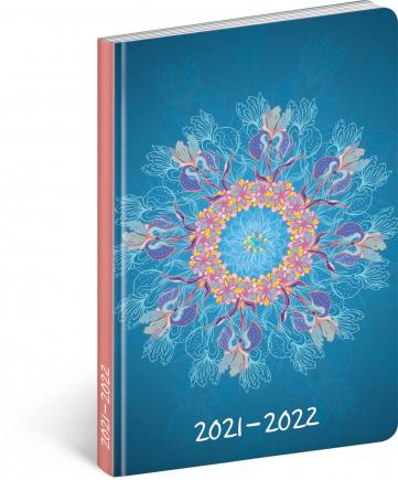 18mesačný diár Petito – Mandala 2021/2022, 11 × 17 cm