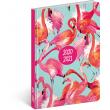 18mesačný diár Petito – Plameniaky 2020/2021, 11 × 17 cm
