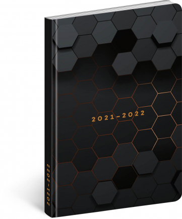 18mesačný diár Petito – Polygón 2021/2022, 11 × 17 cm