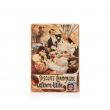 Tabuľka Alfons Mucha – Biscuits Champagne Lefevre, 15 x 21 cm