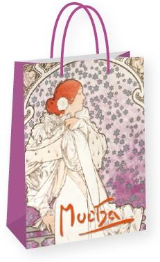 Darčeková taška Alfons Mucha – La Dame, stredná