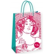 Darčeková taška Alfons Mucha – Ruby, Fresh Collection, veľká