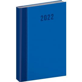 Denný diár Cambio Classic 2022, modrý, 15 × 21 cm
