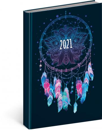 Denný diár Cambio Fun 2021, Lapač snov, 15 × 21 cm