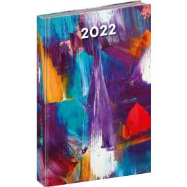 Denný diár Cambio Fun 2022, Maľba, 15 × 21 cm