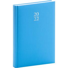 Denný diár Capys 2022, svetlomodrý, 15 × 21 cm