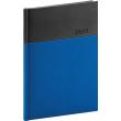 Denný diár Dado 2021, modro-čierny, 15 × 21 cm
