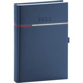Denný diár Tomy modro–červený, 2022 15 × 21 cm