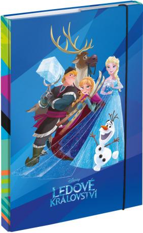 Dosky na školské zošity A4 Frozen