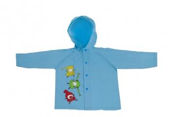 Detský pršiplášť Kúzelná škôlka, modrý, 3-4 roky