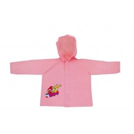 Detský pršiplášť Kúzelná škôlka, ružový, 3-4 roky