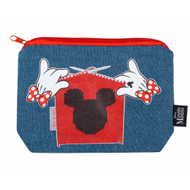 Denimové etui Minnie