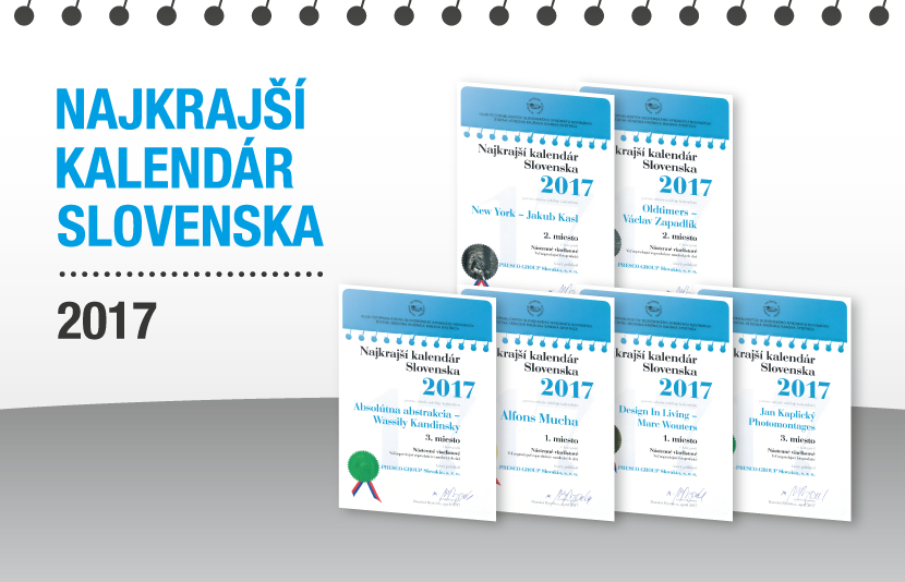 NAJKRAJŠÍ KALENDÁR SLOVENSKA 2017