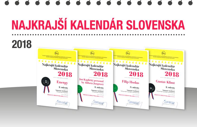 NAJKRAJŠÍ KALENDÁR SLOVENSKA 2018