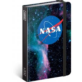 Týždenný diár NASA 2021, 11 × 16 cm