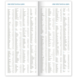 Vreckový diár Lienka 2021, plánovací měsíční, 8 × 18 cm