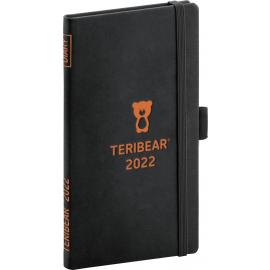 Vreckový diár Teribear 2022, 9 × 15,5 cm