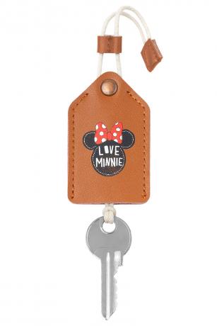 Kožená kľúčenka Minnie