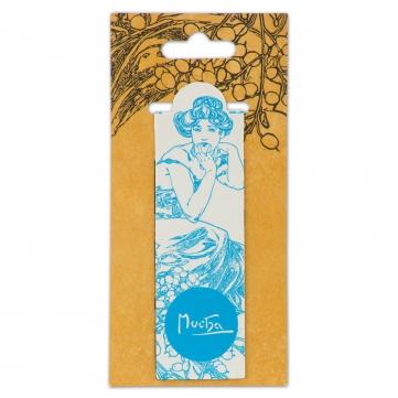 Magnetická záložka Alfons Mucha – Topaz, Fresh Collection