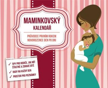 Mamičkovský kalendár, 13,5 x 11 cm