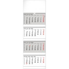 Nástenný kalendár 4–mesačný štandard skladací 2022, 29,5 × 84,5 cm