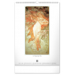 Nástenný kalendár Alfons Mucha 2021, 33 × 46 cm