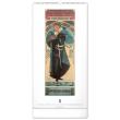 Nástenný kalendár Alfons Mucha 2021, 33 × 64 cm