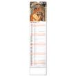 Nástenný kalendár Alfons Mucha CZ/SK 2022, 12 × 48 cm