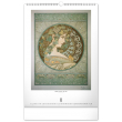 Nástenný kalendár Alfons Mucha 2022, 33 × 46 cm