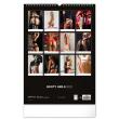 Nástenný kalendár Booty Girls, 2022, 33 × 46 cm