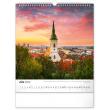 Nástenný kalendár Čarokrásne Slovensko 2022, 30 × 34 cm