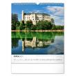 Nástenný kalendár Česká republika 2021, 30 × 34 cm