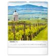 Nástenný kalendár Česká republika 2022, 30 × 34 cm