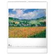 Nástenný kalendár Claude Monet 2022, 48 × 56 cm