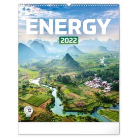 Nástenný kalendár Energia 2022, 48 × 56 cm