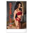 Nástenný kalendár Girls Exclusive 2022, 33 × 46 cm