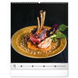 Nástenný kalendár Gourmet 2022, 48 × 56 cm