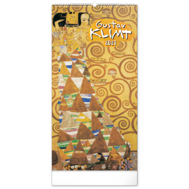 Nástenný kalendár Gustav Klimt 2021, 33 × 64 cm