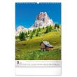 Nástenný kalendár Hory 2021, 33 × 46 cm