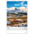 Nástenný kalendár Hory 2022, 33 × 46 cm