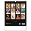 Nástenný kalendár Hot Girls 2022, 30 × 34 cm