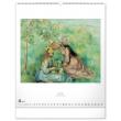 Nástenný kalendár Impresionizmus 2021, 48 × 56 cm