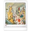 Nástenný kalendár Josef Lada – Zvieratka 2021, 48 × 56 cm
