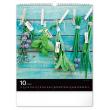 Nástenný kalendár Korenie a bylinky 2021, 30 × 34 cm