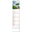Nástenný kalendár Krajina CZ/SK 2022, 12 × 48 cm